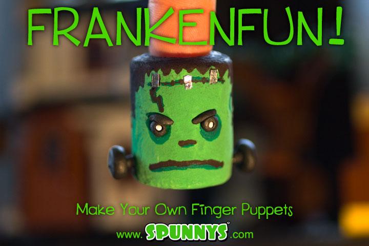 Franken_fingerpuppet